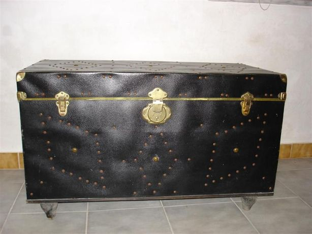 Baú (arca, mala) antigo (Vintage)