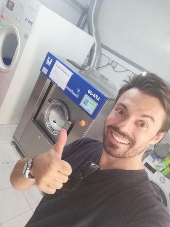 Máquina de lavar roupa e secar industrial lares e Residências Sénior