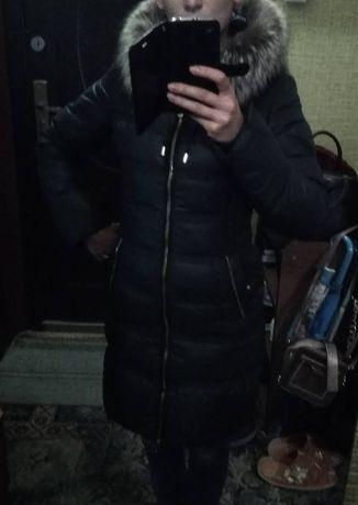 Зимовий пуховик, пальто,куртка