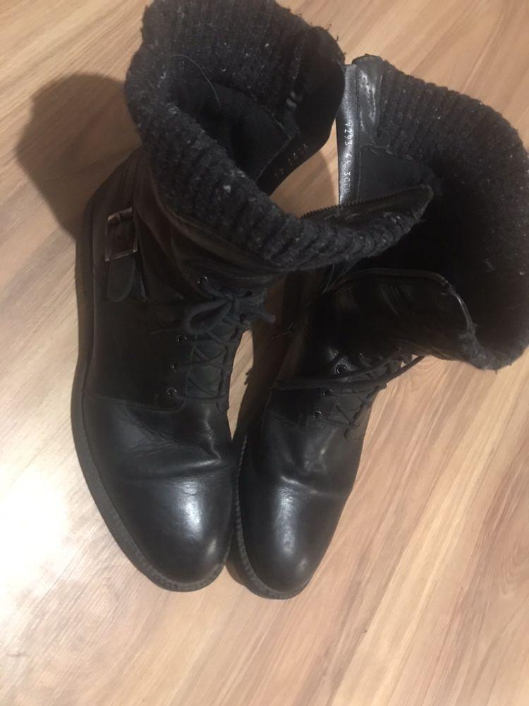 Skórzane buty męskie Gino Rossi, 45