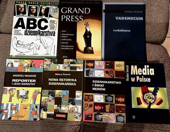 Książki o tematyce dziennikarskiej
