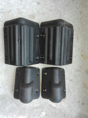 narożnik okucie wzmacniacza kolumny głośnikowej plastkowe