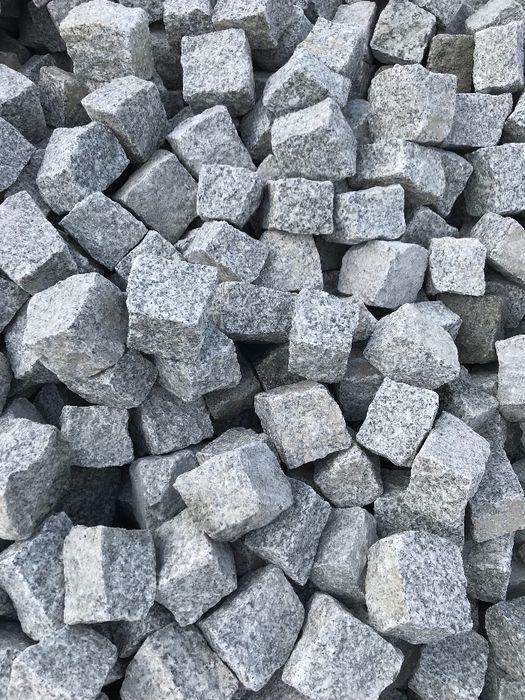 KOSTKA GRANITOWA I GAT na Kilogramy Granit Kamień 6x4 7x9 10 IMPERIUM Pruszków - image 1