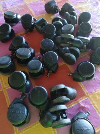 30 Rodas para cadeiras ou outros móveis