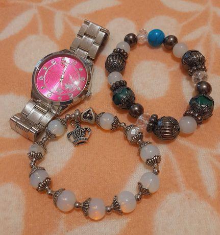 Relógio + 2 pulseiras