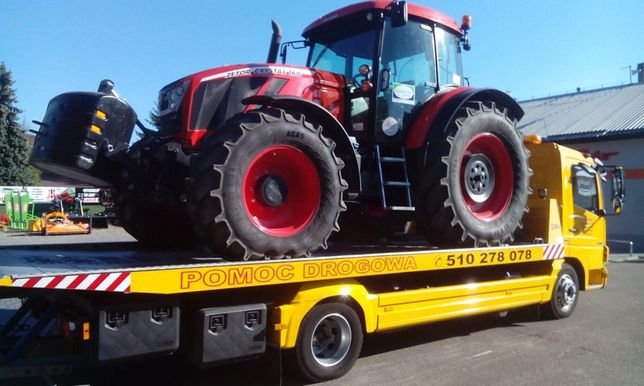 Usługi Transportowe przewóz traktorów, maszyn rolniczych, budowlanych