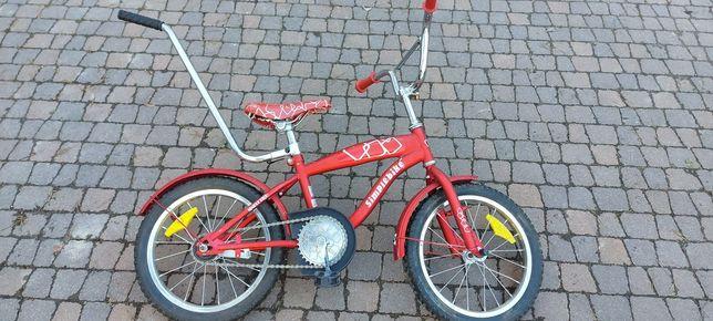 """Rower Simplebike 16"""" czerwony dziecięcy"""