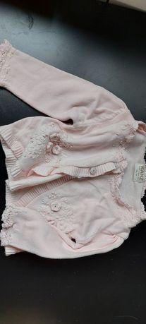 Кардиган розовый на девочку  Kanz с 1 до 6 месяцев