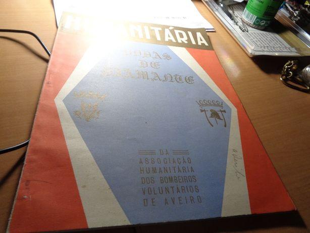 Livro Bombeiros Aveiro 1882.1957 Bodas de Diamante 48 Páginas