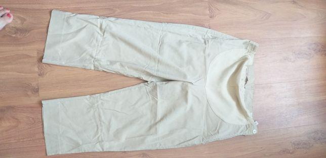 Letnie spodnie ciążowe.