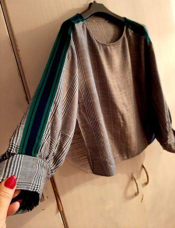 Modna koszula kratka lampas
