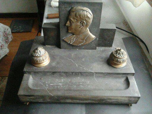 TINTEIRO antigo e unico do SALAZAR com 15 kilos peça de MUSEU