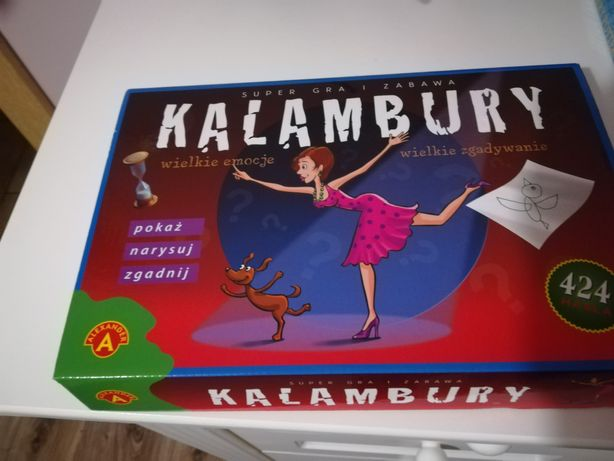 Gra rodzinna Kalambury.