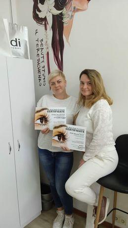 Обучение наращивание ресниц ,ламинирование ресниц Чернигов-Славутич