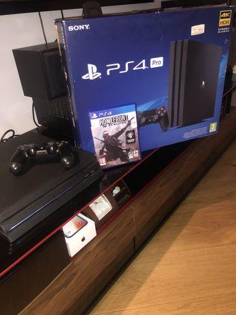 Sony Playstation 4Pro plus gra i pad