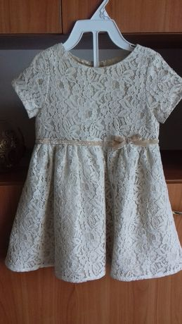 Elegancka sukienka COOL CLUB r. 86 nowa! + bolerko + opaska