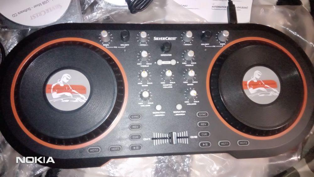 Dj mixer cd duble procesor Częstochowa - image 1