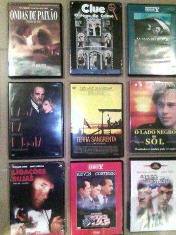 Lote de dvd's novos alguns mais raros