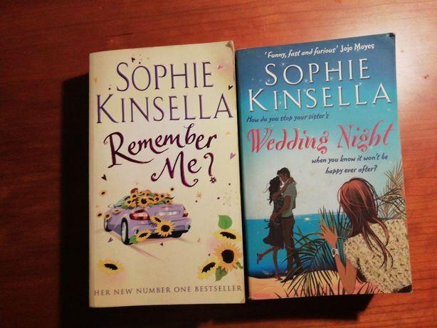 "Livros ""Wedding Night"" e ""Remember me?"" de Sophie Kinsella"