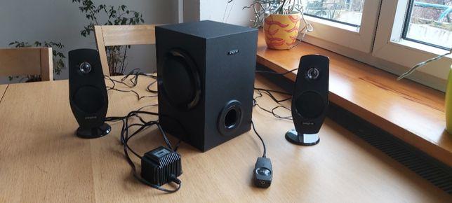 Głośniki 2.1 Creative Inspire T3030 - lewe gniazdo czasem nie działa
