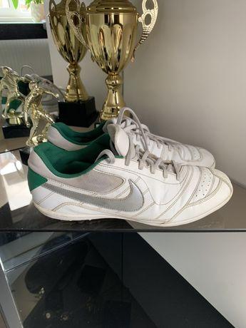 Футзалки, бампы Nike 5 ZOOM T-1 кожаные сороконожки 29 СМ