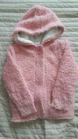 Sweter ocieplony