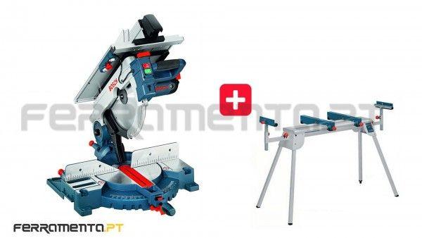 Serra Combinada Bosch GTM 12 JL + MESA Professional