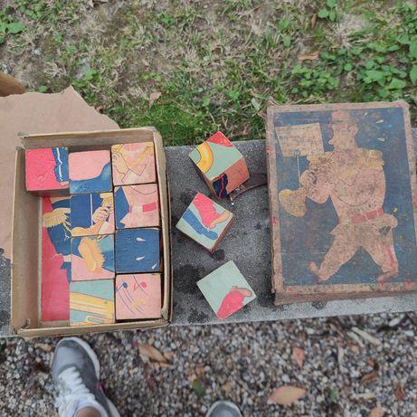 Jogo de cubos antiguidades