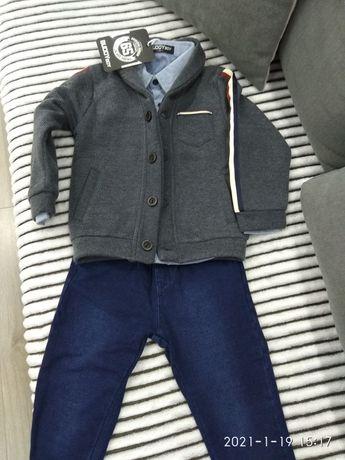 Костюм джинси сорочка