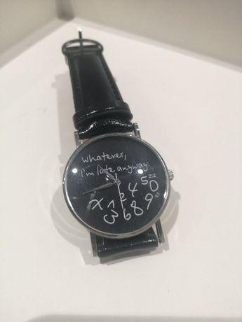 Zegarek damski nowoczesny czarny