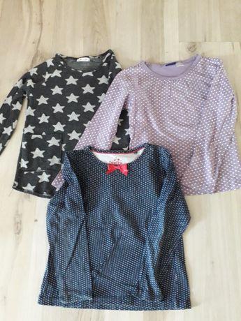 Bluzki 116 dla dziewczynki
