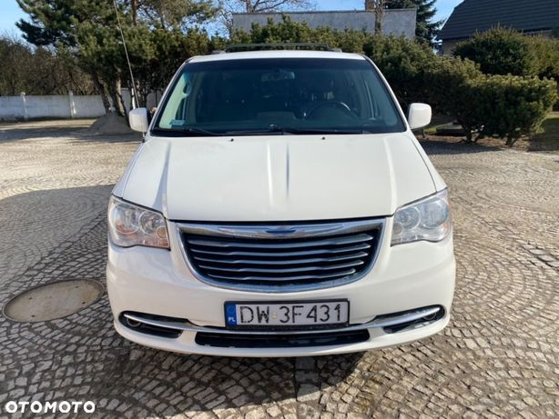 Chrysler Town &Amp; Country 3.6i Gaz 280ps Zadbany, Ładny, Full