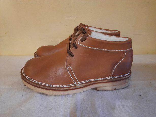 Кожаные ботинки на меху Sioux Pampas 6 1\2( 26 см)