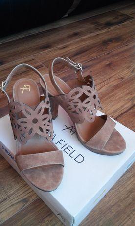 Sandałki na słupku Anna Field rozmiar 39
