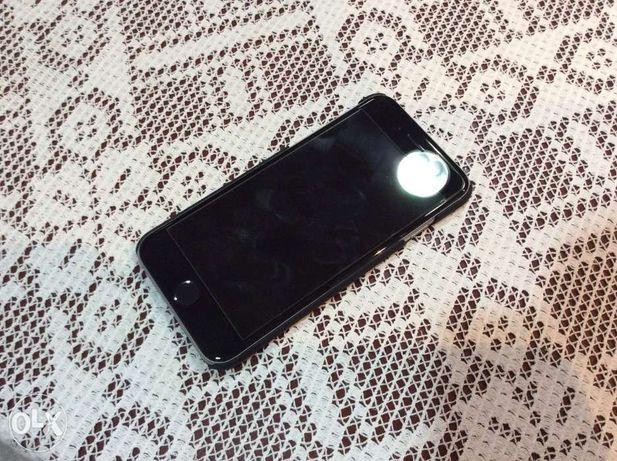 Capa rígida iPhone 6 e6s ultrafina nova preta