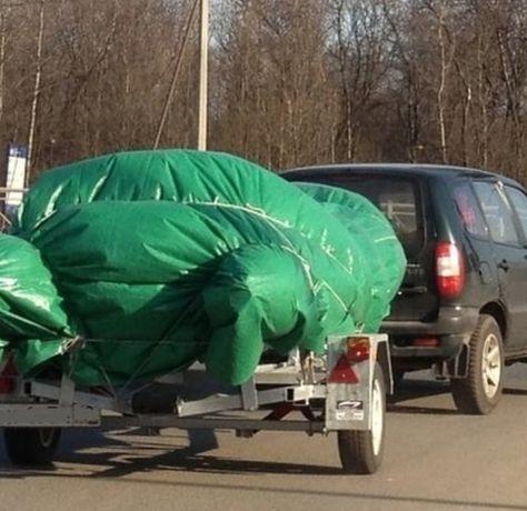 Тент для прицепов и домов на колёсах тарпаулин новый лёгкий прочный