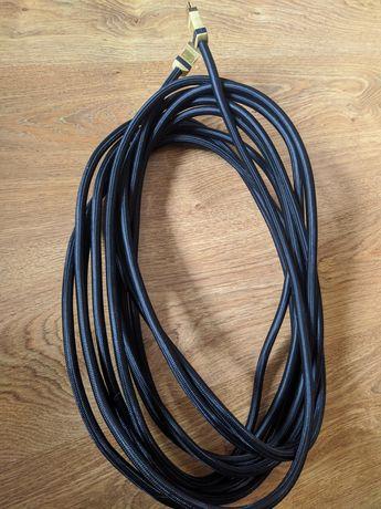 Kabel - przewód HDMI/HDMI 10m w oplocie
