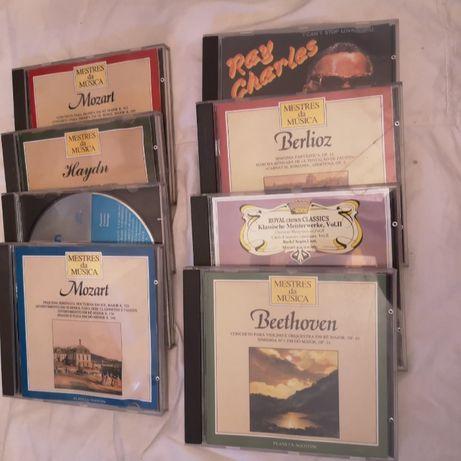 Conjunto de 6 discos CD - musica classica