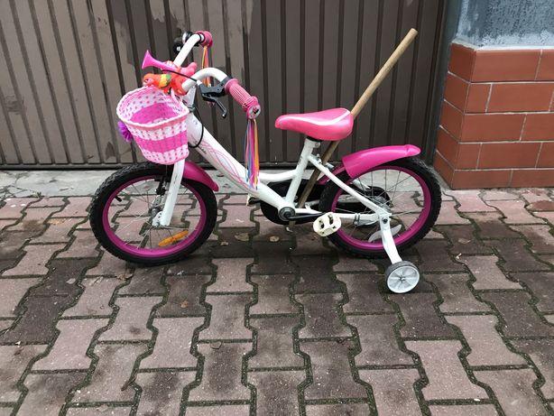 """Rower rowerek dla dziewczynki 16"""""""