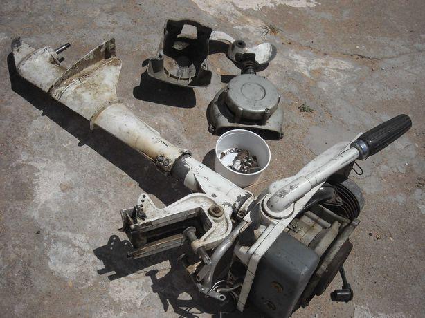 Motor barco fora de bordo antigo Tomos Koper para peças