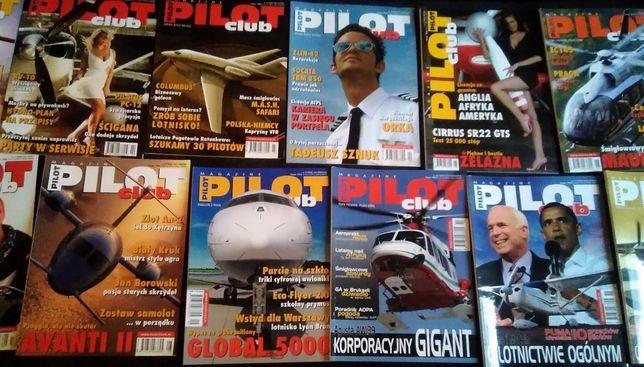 Nr 1 - 12 czasopismo gazeta Pilot Club z 2008 roku