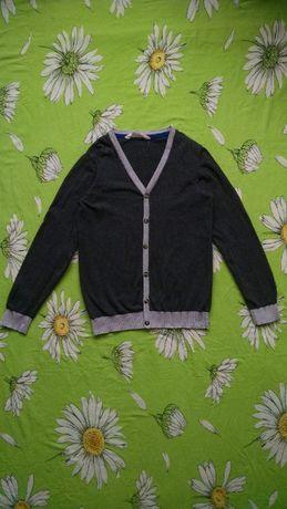 Кардиган, кофта на пуговицах для мальчика 10-12 лет-H&M
