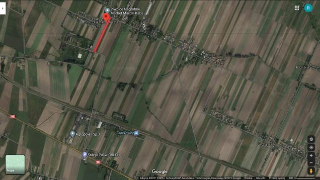 Oddam ziemię rolną w dzierżawę 0,9ha Jackowice/Zduny