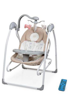 Детский шезлонг 2в1 ME 1028 от рождения, укачивающий