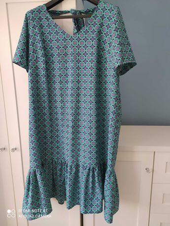 Przepiękna sukienka, niespotykany wzór!