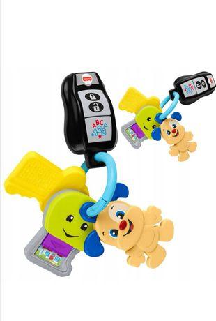 Fisher-Price, Podróżne kluczyki, niemowlęca zabawka interaktywna