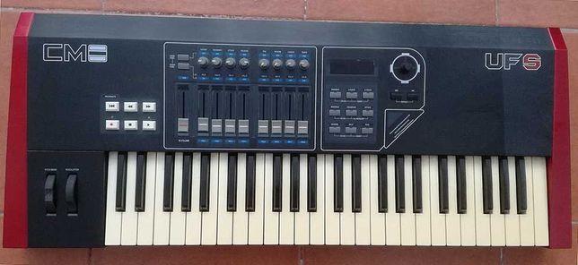 Teclado MIDI a funcionar