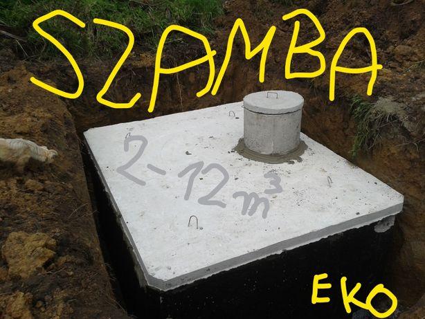 Szambo Szamba betonowe 10m3 atest zbiorniki betonowe zbiornik EKO