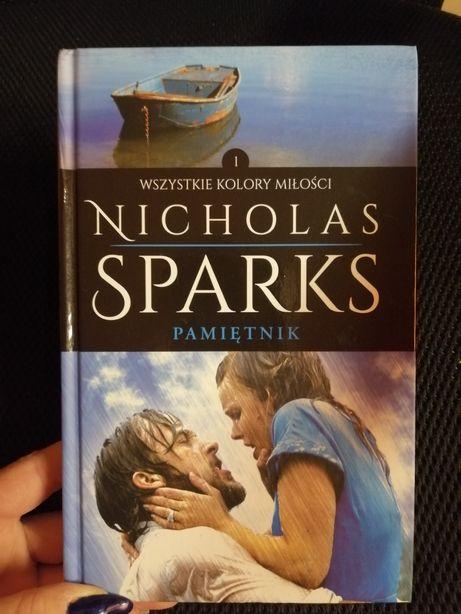 Książka Nicholas Sparks Pamiętnik