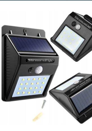 Lampa solarna z czujnikiem ruchu i zmierzchu